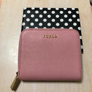フルラ(Furla)のFURLA ミニ財布 桜色ピンク バビロン(財布)
