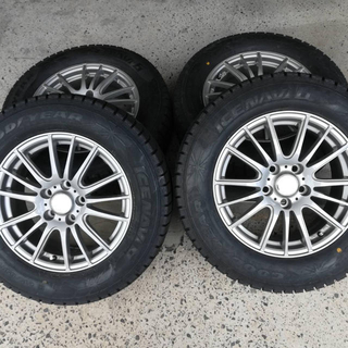 グッドイヤー(Goodyear)の✳️送料込み✳️タイヤ・ホイールセット 215/R65 16インチ スタッドレス(タイヤ・ホイールセット)