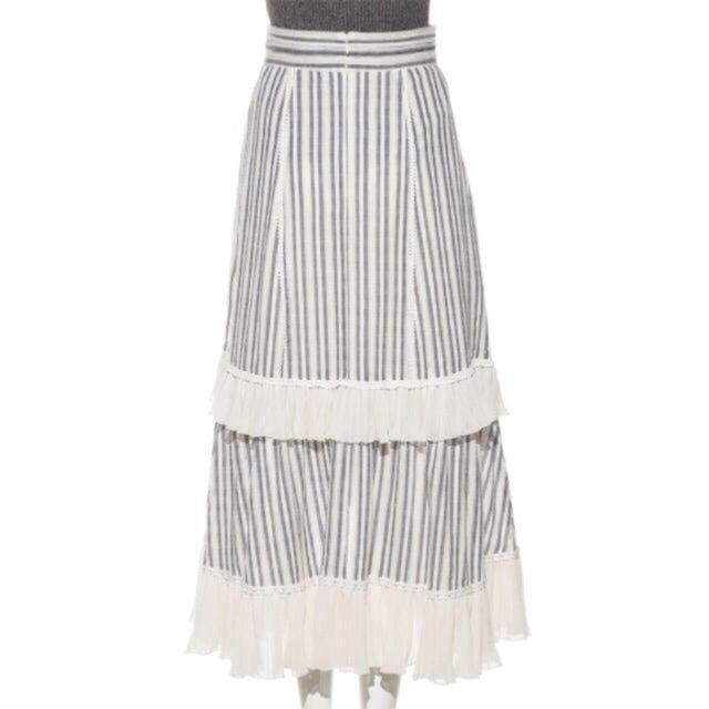 snidel(スナイデル)の完売品❤️ スナイデル コットンレースイレヘムスカート コットンレース S ♡ レディースのスカート(ロングスカート)の商品写真