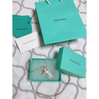 Tiffany & Co. - Tiffany ティファニー 18Kクロスペンダント クロスネックレス