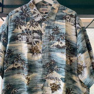 ART VINTAGE - 90s 古着 アロハシャツ オーバーサイズ レーヨンシャツ 落ち感 ドレープ感