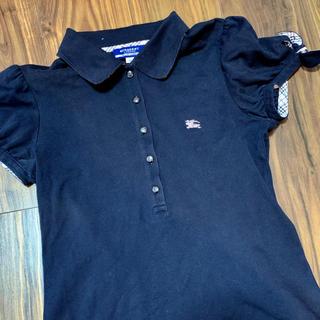 バーバリーブルーレーベル(BURBERRY BLUE LABEL)のバーバリーブルーレーベル ポロシャツ サイズ38(ポロシャツ)