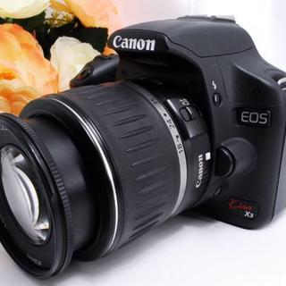 Canon - 【動画も撮れる!】キャノン Kiss X3 レンズキット