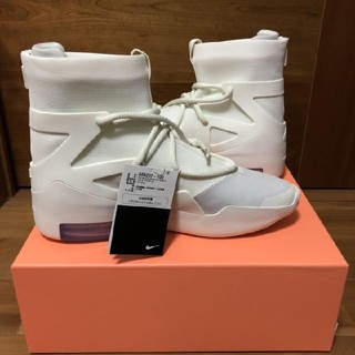 "FEAR OF GOD - NIKE AIR FEAR OF GOD 1 ""Sail"" 27cm"
