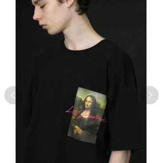 BEAUTY&YOUTH UNITED ARROWS - 着用1回 monkey time art print tee モナリザ