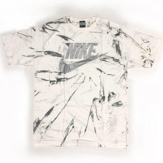 NIKE - 2019年大トレンド NIKE ナイキ タイダイ ホワイト シルバー Tシャツ
