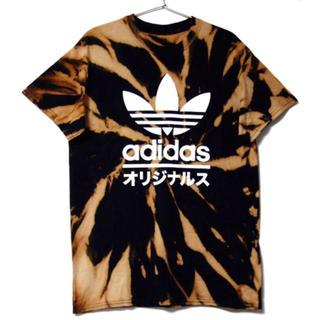 adidas - 2019年大トレンド タイダイ adidas Tシャツ