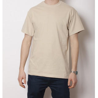 GILDAN 6.0オンス ウルトラコットン 無地Tシャツ サンド