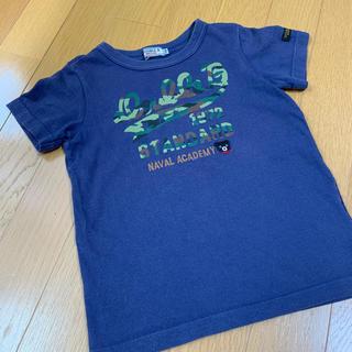 DOUBLE.B - ダブルビー カモフラ柄 Tシャツ 110