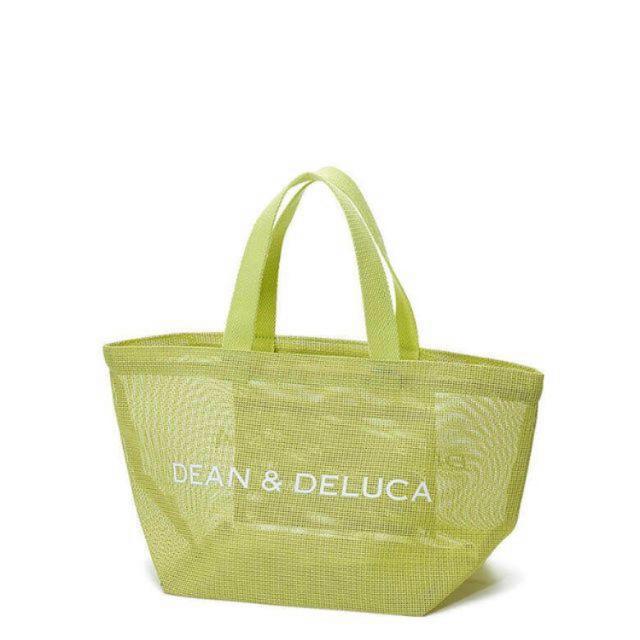 MUJI (無印良品)(ムジルシリョウヒン)の新品    DEAN&DELUCA  メッシュトートバッグ ライムグリーン   レディースのバッグ(トートバッグ)の商品写真