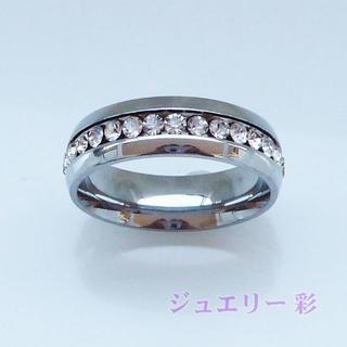 フルエタニティ―チタンリング♪シルバー 11号 送料無料(リング(指輪))
