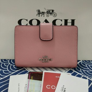 コーチ(COACH)のCOACH 二つ折りミニ財布新品未使用 F53436(折り財布)