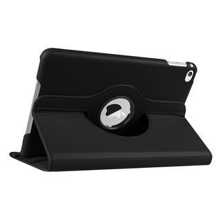 iPad mini 5/mini 4 共用 ブラック 360度回転機能付 ケース