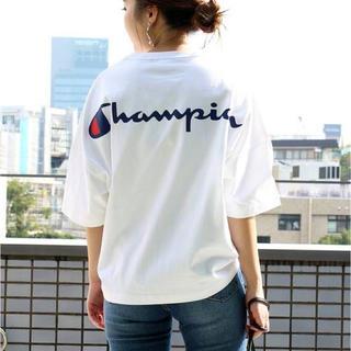 Champion - 新品 Champion チャンピオン ウルトラビッグバックプリントロゴTシャツ