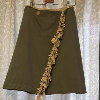 mina perhonen - ミナペルホネン  フォレストパレード スカート36