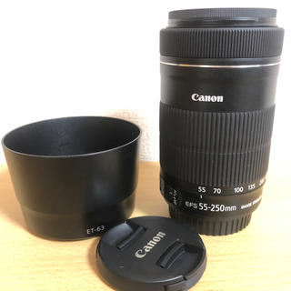 Canon - CANON EF-S 55-250mm f4-5.6 IS STM