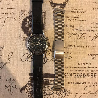 腕時計 メンズ クロノグラフ 機械式 手巻き スピードマスター