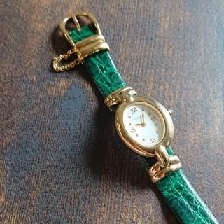 ヴァンドームアオヤマ(Vendome Aoyama)のヴァンドーム青山 オーバル  星   時計 レディース(腕時計)