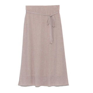 ミラオーウェン(Mila Owen)のラメスカート(ロングスカート)