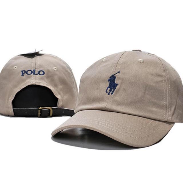 Ralph Lauren(ラルフローレン)の大人気!新品未使用☆男女兼用ラルフローレンキャップベージュ レディースの帽子(キャップ)の商品写真