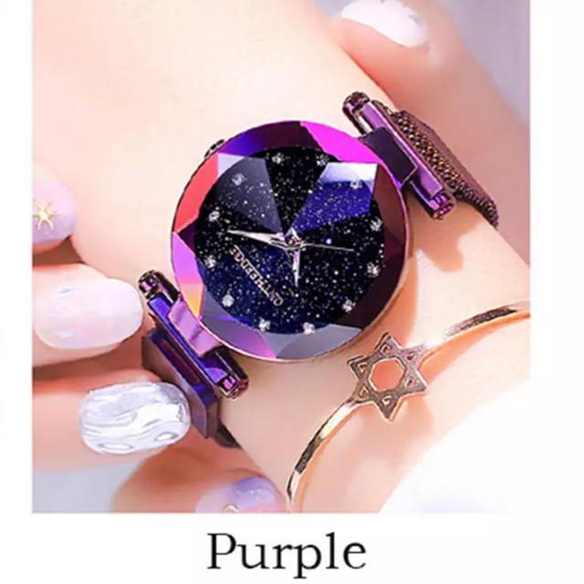 SNSで話題 レディース 腕時計 星空 czダイヤモンド  ジルコニアの通販 by shop BON's shop|ラクマ