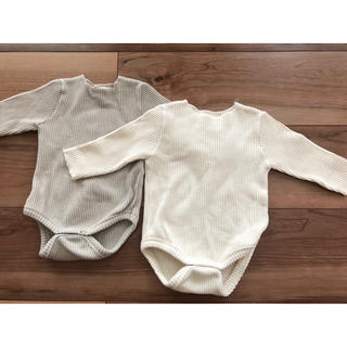Caramel baby&child  - monbebe リブロンパース2枚セット