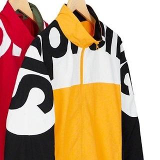 Supreme - 黄色M❗️ Shoulder Logo Track Jacket