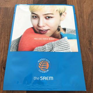 ザセム(the saem)のthe SAEM フェイスパック マスク BIGBANG G-DRAGON(アイドルグッズ)
