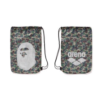 A BATHING APE - A BATHING APE×arena  メッシュバッグ