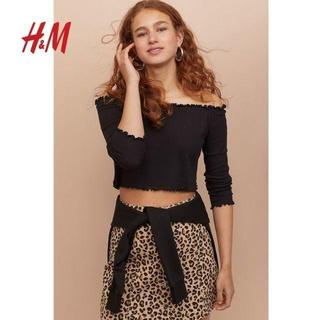 H&M - オフショルダーTシャツ カットソー H&M HM