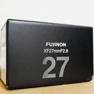 富士フイルム - ☆【新品未開封】富士フィルム FUJINON XF 27mm F2.8☆