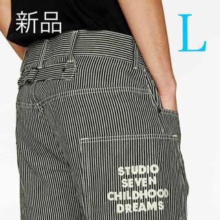 GU - 新品 GU ❤️ STUDIO SEVEN  レギュラージーンズ  BLUE
