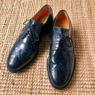 コールハーン(Cole Haan)の定価4.2万 Cole Haan コールハーン C14197 ウイングチップ 黒(ドレス/ビジネス)