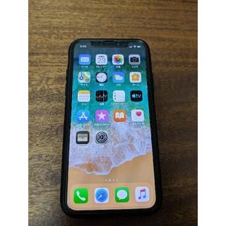 iPhone - iPhone X スペースグレイ 64gb docomo 美品 SIMフリー