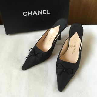 CHANEL - シャネル パンプス 黒