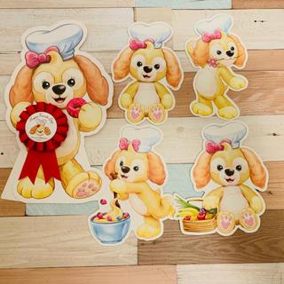 ダッフィー - 【国内発送】香港ディズニー クッキー 記念バッチ カード 5点セット