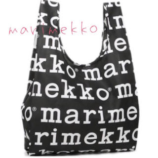 marimekko - マリロゴ marimekko マリメッコ エコバッグ 新品 未使用 未開封 英字