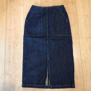 GU - GU デニムタイトスカート