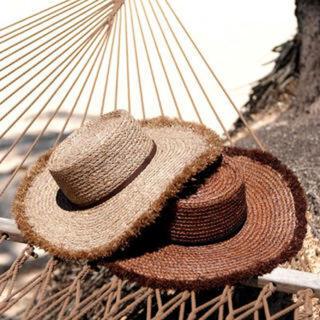 ルームサンマルロクコンテンポラリー(room306 CONTEMPORARY)のSummer Wide Boater Hat(麦わら帽子/ストローハット)