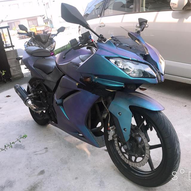 カワサキ(カワサキ)の(みのろ様)ninja250r カワサキ ニンジャ250 ninja250r 自動車/バイクのバイク(車体)の商品写真