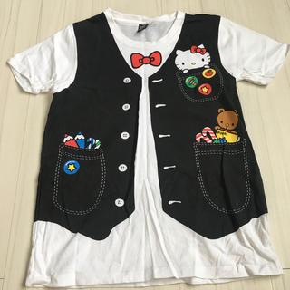 ハローキティ(ハローキティ)のDesignTshirtsStore graniph♡キティコラボSS(Tシャツ(半袖/袖なし))