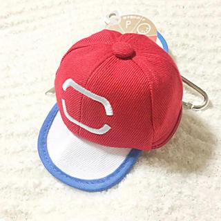 新品 定価1728円 ポケモン サトシ帽子型 ポーチ