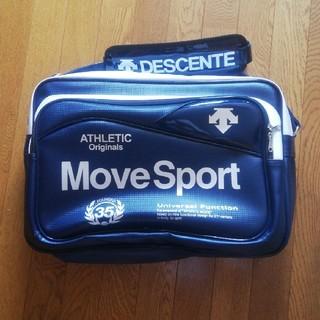 DESCENTE - DESCENTE MoveSport エナメルバッグ