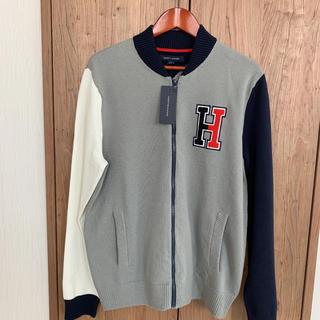 TOMMY HILFIGER - 送料込み☆新品タグ付きTOMMY HILFIGERブルゾン スタジャン風セーター