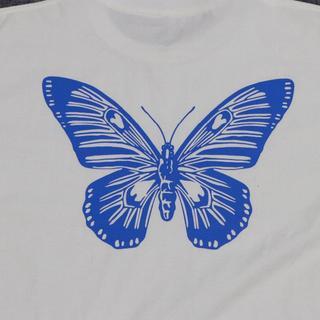 ジーディーシー(GDC)のガールズドントクライ Butterfly  Tシャツ XL(Tシャツ/カットソー(半袖/袖なし))