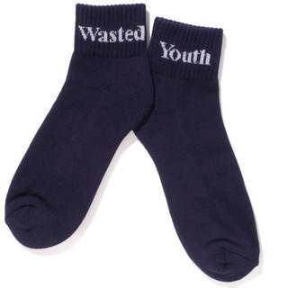 ジーディーシー(GDC)のwasted youth ソックス ショート(ソックス)