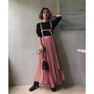 Ameri VINTAGE - Ameri Vintageサスペンダースカート
