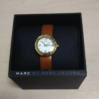 MARC BY MARC JACOBS - 美品☆MARC BY MARC JACOBS 腕時計(箱、説明書付き)