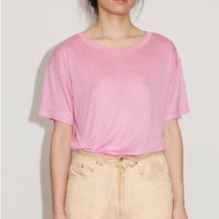 エディットフォールル(EDIT.FOR LULU)のBASERANGE バンブーTシャツ  半袖(Tシャツ(半袖/袖なし))