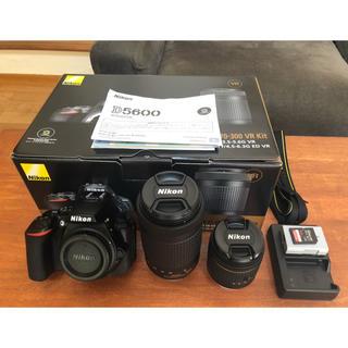 Nikon - Nikon D5600  ダブルズームキット 64G SDカード付